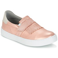 Sapatos Rapariga Slip on Bullboxer ADJAGUE Rosa / Dourado