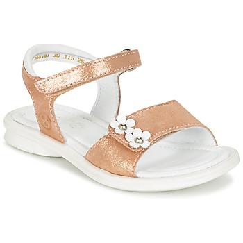 Sapatos Rapariga Sandálias Mod'8 JANAH Dourado