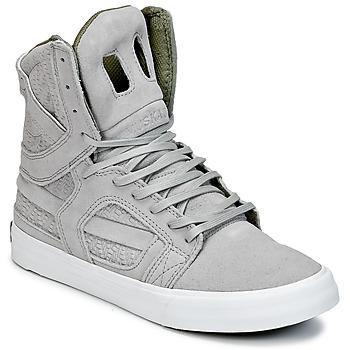 Sapatos Sapatilhas de cano-alto Supra SKYTOP II Cinza