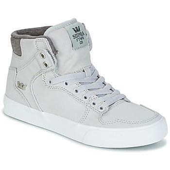 Sapatos Sapatilhas de cano-alto Supra VAIDER Cinza