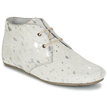 Sapatos Mulher Botas baixas Maruti GIMLET Branco / Prateado