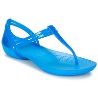 Sapatos Mulher Sandálias Crocs CROCS ISABELLA T-strap Azul