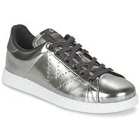 Sapatos Mulher Sapatilhas Victoria DEPORTIVO BASKET METALLISE Prata