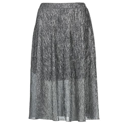 Textil Mulher Saias Betty London FOYEUSE Prateado