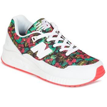 Sapatos Mulher Sapatilhas New Balance W530 Verde / Vermelho