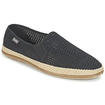 Sapatos Homem Slip on Victoria COPETE ELASTICO REJILLA TRENZA Preto