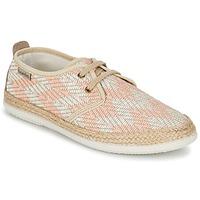 Sapatos Mulher Sapatilhas Victoria BLUCHER TEJIDO ZIG-ZAG Salmão