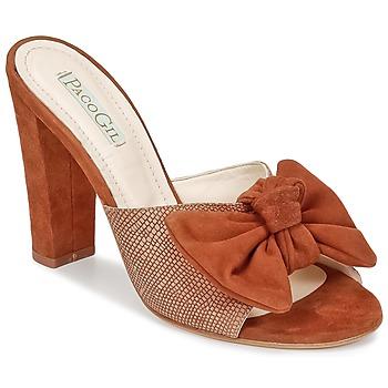 Sapatos Mulher Chinelos Paco Gil BRAZIL Castanho