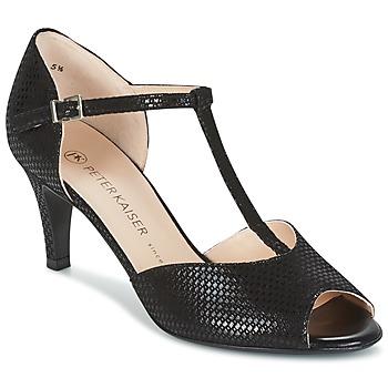 Sapatos Mulher Sandálias Peter Kaiser NELA Preto