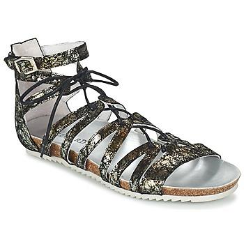 Sapatos Mulher Sandálias Regard RABAZO Preto / Prata
