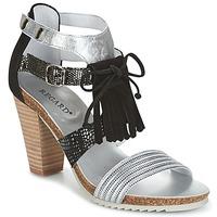 Sapatos Mulher Sandálias Regard RIKA Prata / Preto