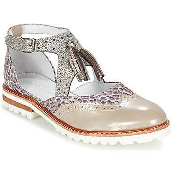 Sapatos Mulher Sapatos Regard ROAXO Bege / Prata