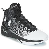 Sapatos Homem Sapatilhas de basquetebol Under Armour UA ClutchFit Drive 3 Preto / Branco