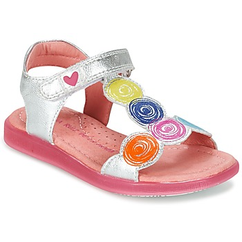 Sapatos Rapariga Sandálias Agatha Ruiz de la Prada BIDINETTE Prateado