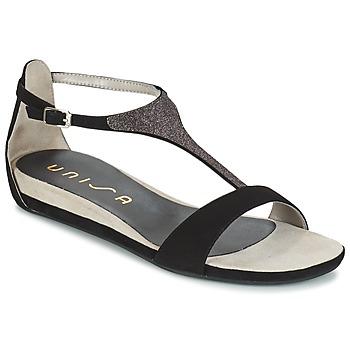 Sapatos Mulher Sandálias Unisa APICE Preto