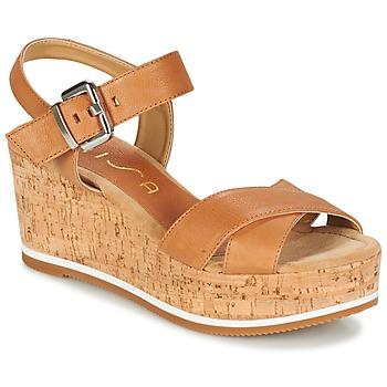 Sapatos Mulher Sandálias Unisa KARPI Bege