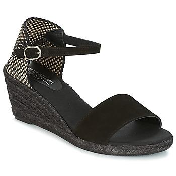 Sapatos Mulher Alpargatas Elizabeth Stuart TREVISE Preto