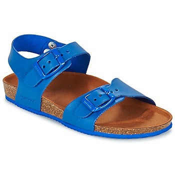 Sapatos Rapaz Sandálias Garvalin SOULI Azul