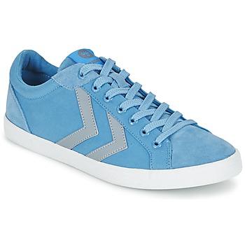 Sapatos Sapatilhas Hummel DEUCE COURT SUMMER Azul / Cinza