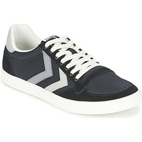 Sapatos Sapatilhas Hummel TEN STAR DUO CANVAS LOW Preto / Cinza