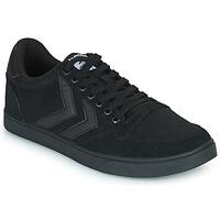 Sapatos Homem Sapatilhas Hummel TEN STAR TONAL LOW Preto