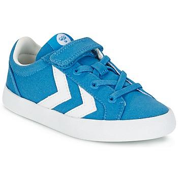 Sapatos Criança Sapatilhas Hummel DEUCE COURT JR Azul