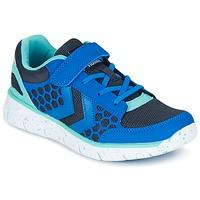 Sapatos Criança Sapatilhas Hummel CROSSLITE JR Azul