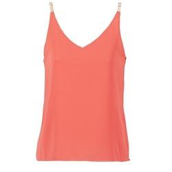 Textil Mulher Tops / Blusas Betty London GUENIA Coral