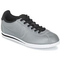 Sapatos Rapaz Sapatilhas Nike CORTEZ PREMIUM JUNIOR Cinza
