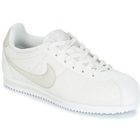 Sapatos Rapariga Sapatilhas Nike CORTEZ LEATHER SE JUNIOR Bege