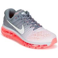 Sapatos Mulher Sapatilhas de corrida Nike AIR MAX 2017 Cinza / Rosa