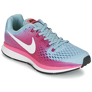 Sapatos Mulher Sapatilhas de corrida Nike AIR ZOOM PEGASUS 34 Azul / Fúchsia