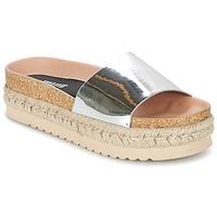 Sapatos Mulher Chinelos MTNG MERCOL Prata