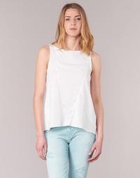 Textil Mulher Tops sem mangas Desigual ROMINESSA Branco