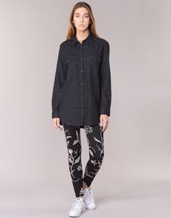 Textil Mulher Collants Desigual CAMIOLES Preto / Cinza