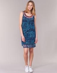 Textil Mulher Vestidos curtos Desigual LIORASE Azul