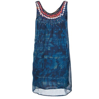 Textil Mulher Vestidos curtos Desigual LIORISE Azul
