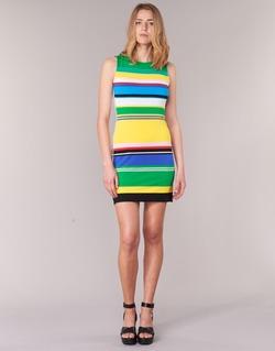 Textil Mulher Vestidos curtos Desigual LIURASE Multicolor