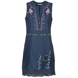 Textil Mulher Vestidos curtos Desigual LIRASE Azul