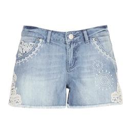 Textil Mulher Shorts / Bermudas Desigual MARTES Azul