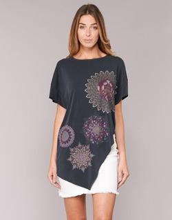 Textil Mulher Túnicas Desigual GRIZELLO Preto