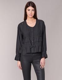 Textil Mulher Tops / Blusas See U Soon 7113001 Preto