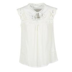 Textil Mulher Tops / Blusas See U Soon 7116203 Branco