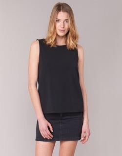 Textil Mulher Tops / Blusas See U Soon 7112004 Preto
