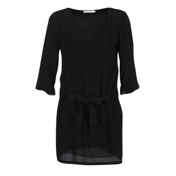 Textil Mulher Vestidos curtos See U Soon 7121032 Preto