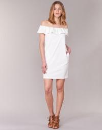 Textil Mulher Vestidos curtos See U Soon 7123017 Branco
