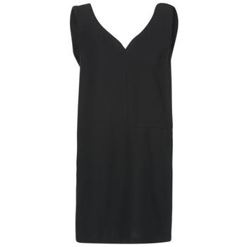 Textil Mulher Vestidos curtos See U Soon 7121047 Preto