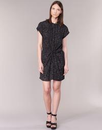 Textil Mulher Vestidos curtos See U Soon 7121114 Preto