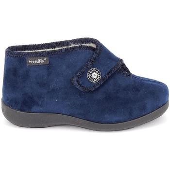 Sapatos Mulher Chinelos Fargeot Caliope marine Azul