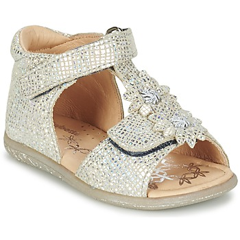 Sapatos Rapariga Sandálias Babybotte TUTU Prata